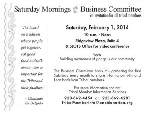 Feb 1, 2014 Saturday Mornings with the BC flyer