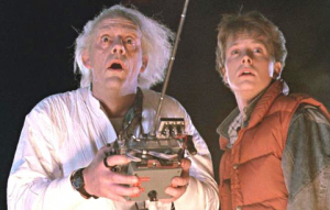 Doc Brown & Marty McFly ready to investigate Ron Van Den Heuvel's history of misdeeds