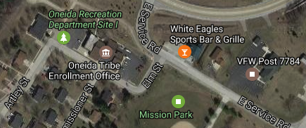 All Nations Energy Alliance LLC business address was Tina Danforth's White Eagle Bar